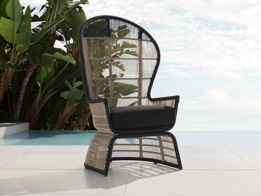 "Palms Outdoor 21"" Chair Cover, slide 3 of 3"