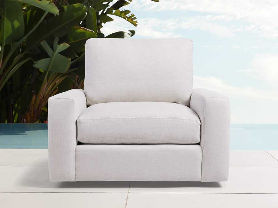 "Remington Outdoor Petite 42"" Swivel Chair Cover, slide 3 of 3"
