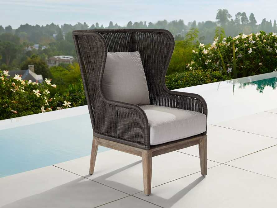 "Sofia Outdoor 35"" Lounge Chair Cover, slide 3 of 3"