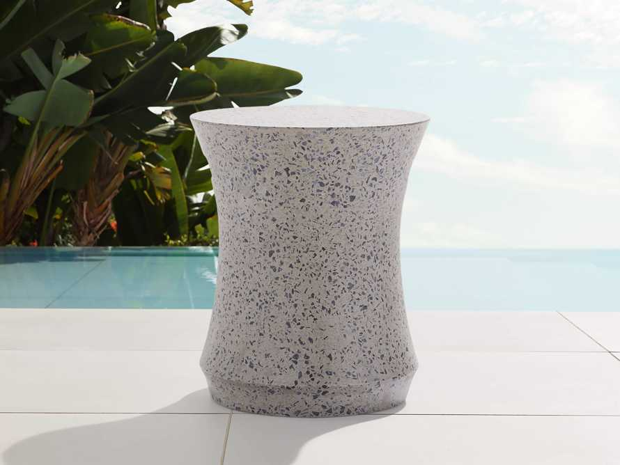 """Terrazzo Outdoor 5"""" End Table Cover, slide 3 of 4"""