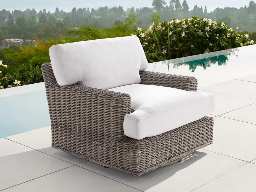 """Wyatt Outdoor 40"""" Swivel Chair Cover, slide 3 of 3"""