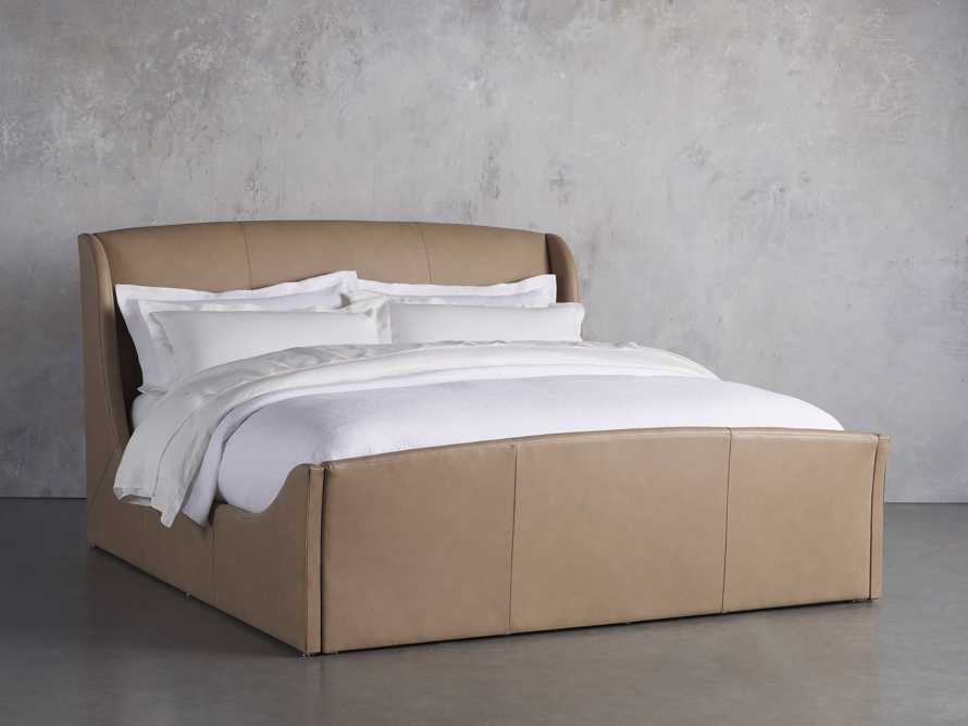 Ella King Bed in Leigh Hare, slide 1 of 5