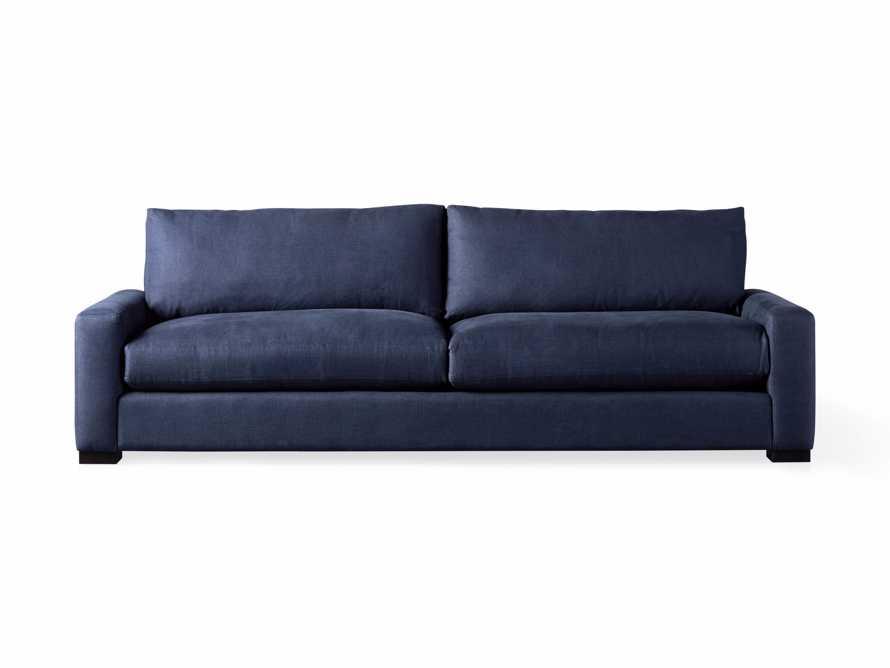 "Remington Deep 108"" Upholstered Sofa (2/2) in Chalet Indigo, slide 8 of 9"