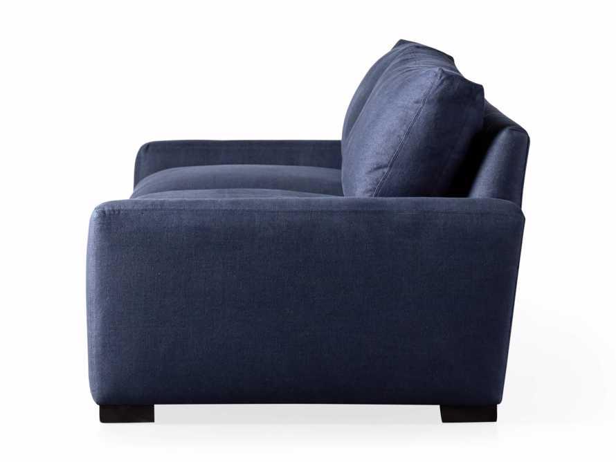"Remington Deep 108"" Upholstered Sofa (2/2) in Chalet Indigo, slide 9 of 9"