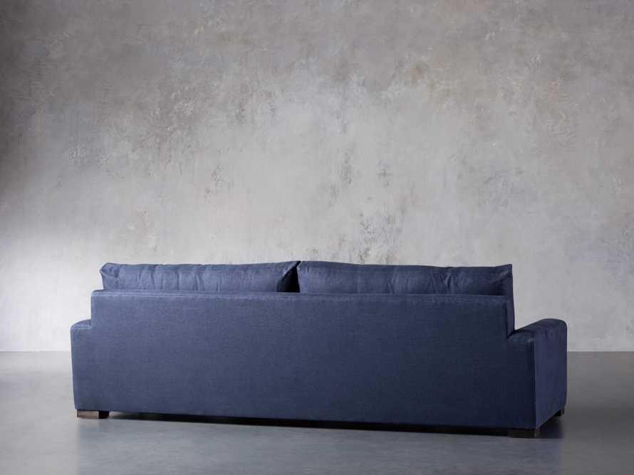 "Remington Deep 108"" Upholstered Sofa (2/2) in Chalet Indigo, slide 6 of 9"