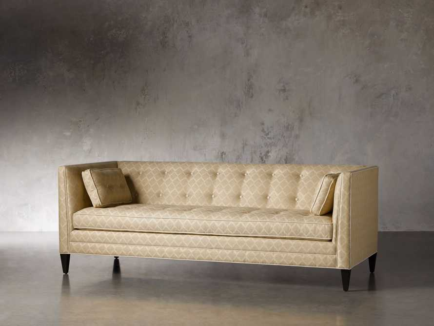 "Veda Upholstered 86"" Sofa, slide 4 of 11"