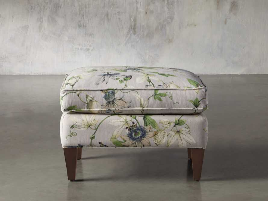 "Plazza 25"" Upholstered Ottoman, slide 2 of 8"