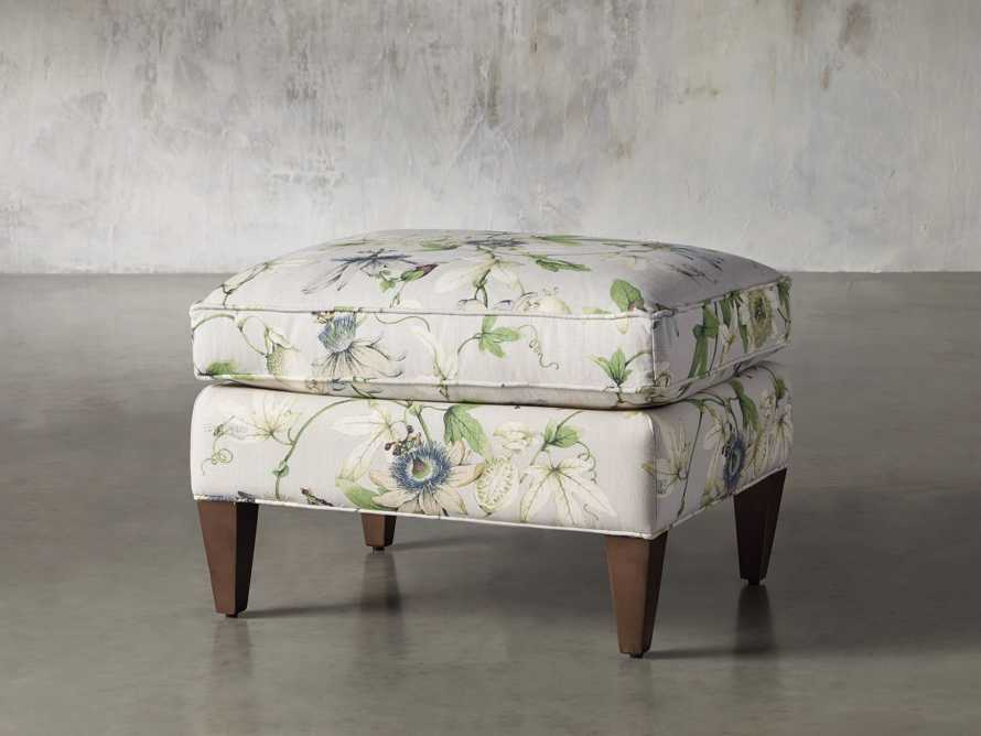 "Plazza 25"" Upholstered Ottoman, slide 3 of 8"
