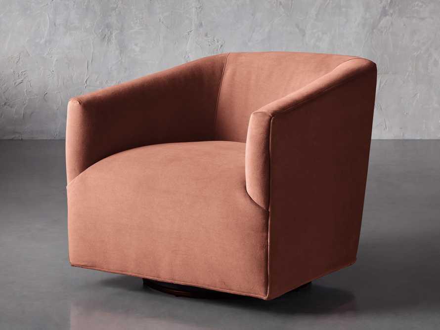 """Ellison Upholstered 31"""" Swivel Chair, slide 3 of 8"""
