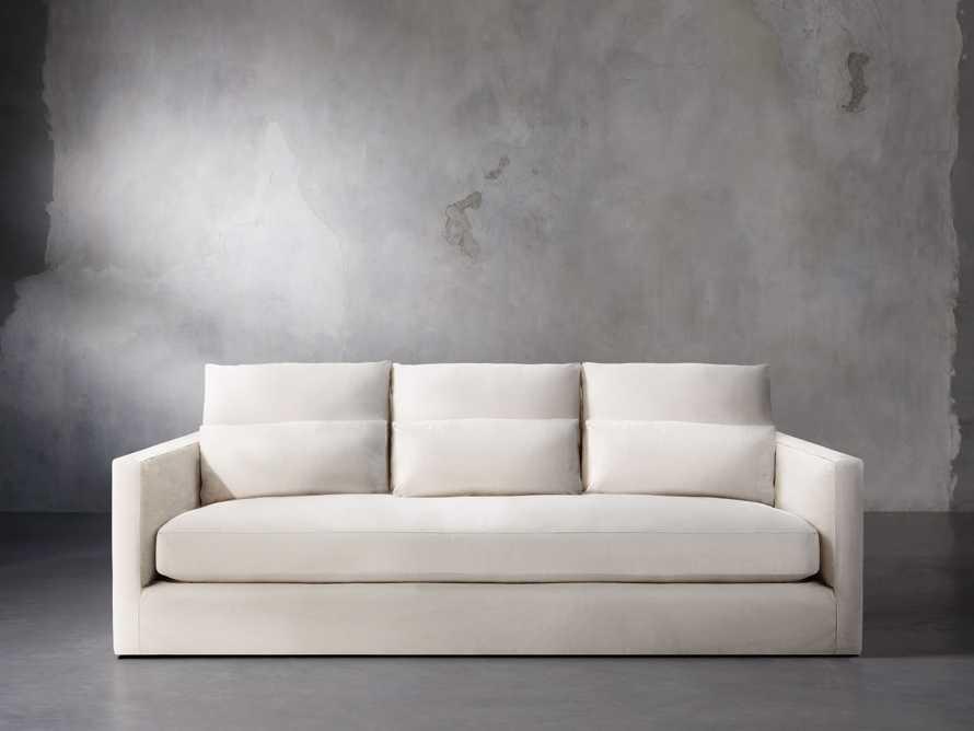 """Pollack 94"""" Slipcovered Sofa, slide 2 of 6"""
