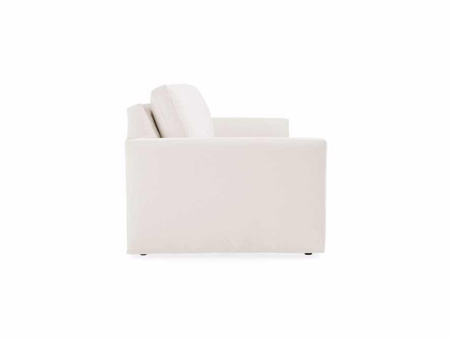 """Pollack 94"""" Slipcovered Sofa, slide 4 of 6"""