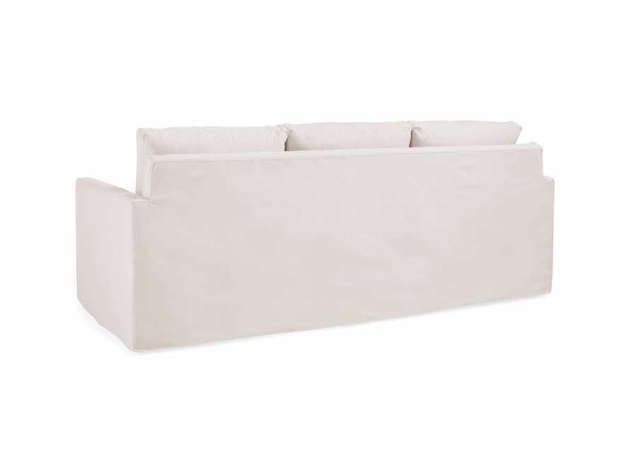 """Pollack 94"""" Slipcovered Sofa, slide 5 of 6"""