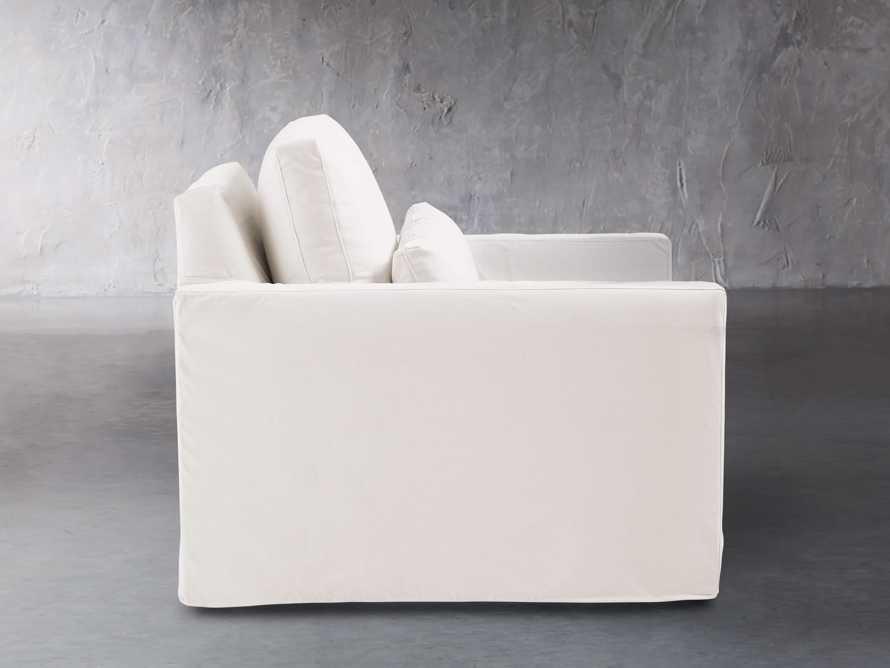 """Pollack 37"""" Slipcovered Swivel Chair, slide 4 of 8"""