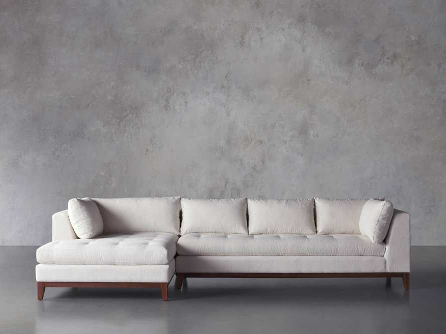 Bryden 2 Piece Left Arm Wide Chaise Sectional, slide 2 of 7