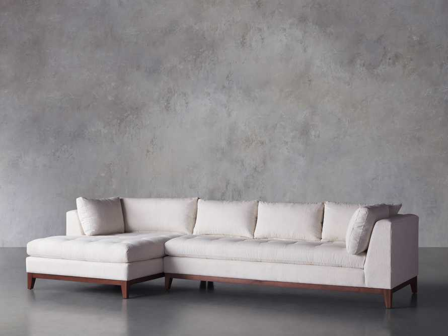 Bryden 2 Piece Left Arm Wide Chaise Sectional, slide 3 of 7