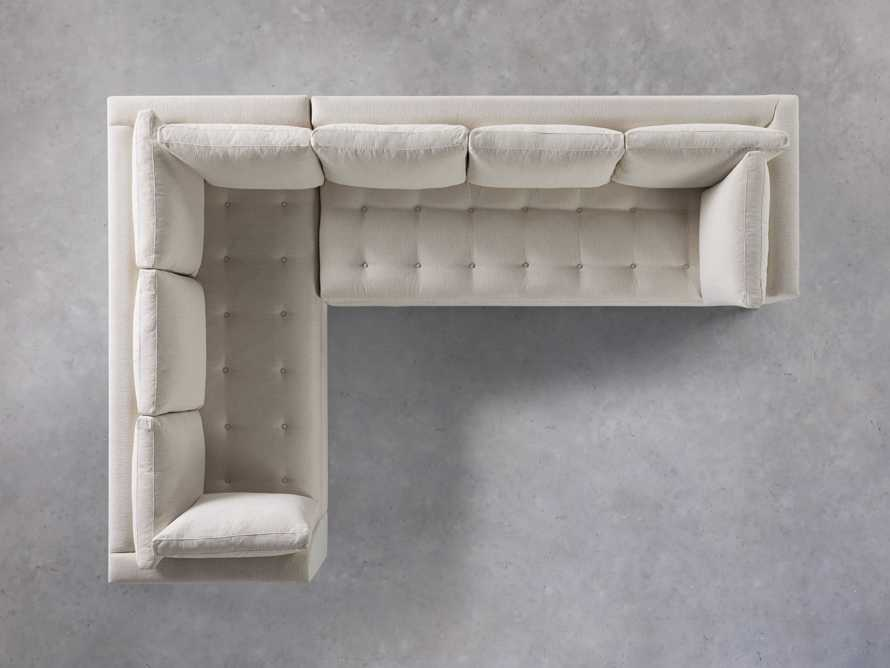 """Bryden Upholstered 90"""" Right Arm Two Piece Sectional, slide 6 of 7"""