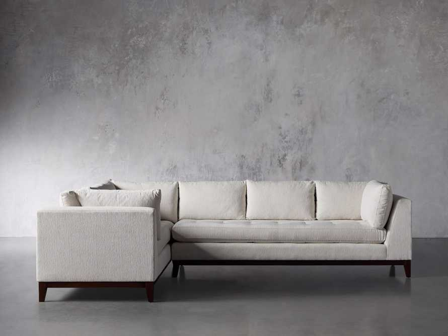 """Bryden Upholstered 90"""" Right Arm Two Piece Sectional, slide 2 of 7"""