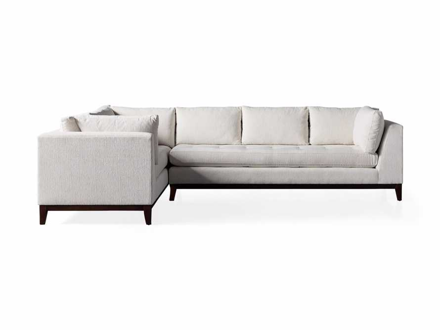"""Bryden Upholstered 90"""" Right Arm Two Piece Sectional, slide 7 of 7"""