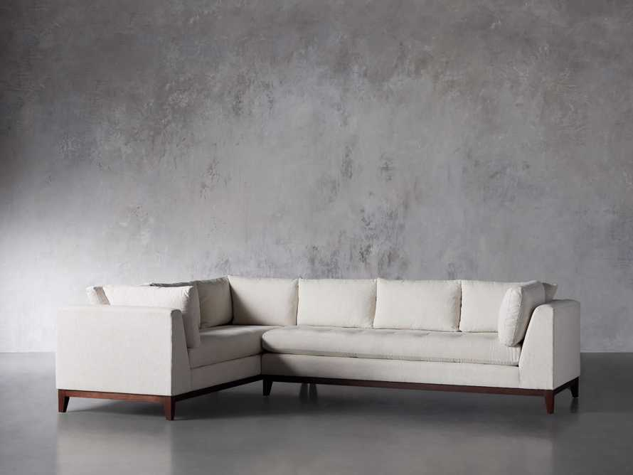 """Bryden Upholstered 90"""" Right Arm Two Piece Sectional, slide 4 of 7"""