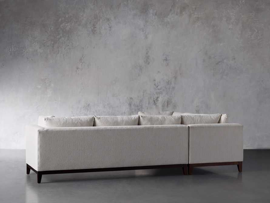 """Bryden Upholstered 90"""" Right Arm Two Piece Sectional, slide 5 of 7"""