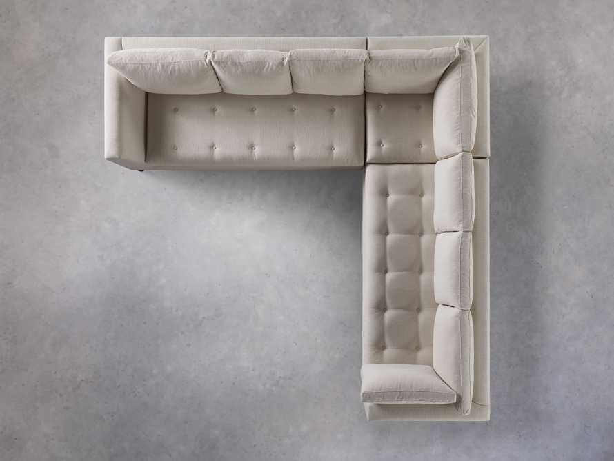 """Bryden Upholstered 118"""" Corner Sectional, slide 6 of 7"""