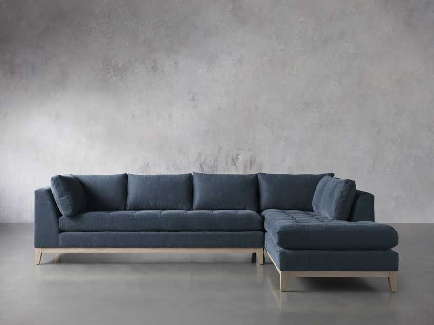 """Bryden Upholstered 129"""" Two Piece Sectional, slide 3 of 8"""