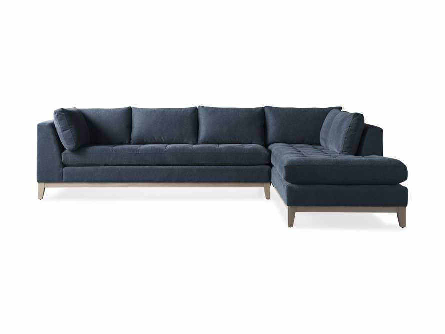 """Bryden Upholstered 129"""" Two Piece Sectional, slide 8 of 8"""