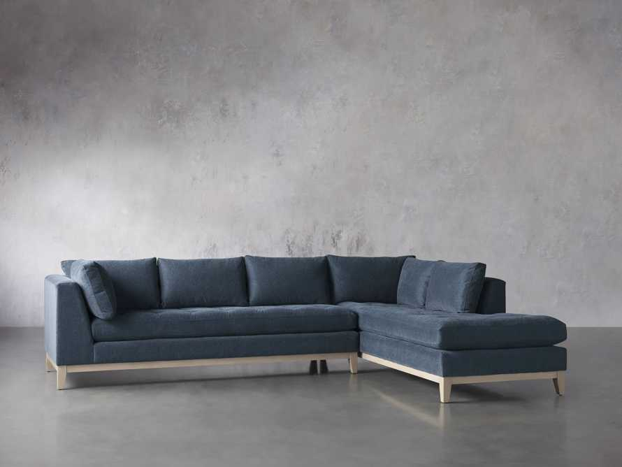 """Bryden Upholstered 129"""" Two Piece Sectional, slide 4 of 8"""