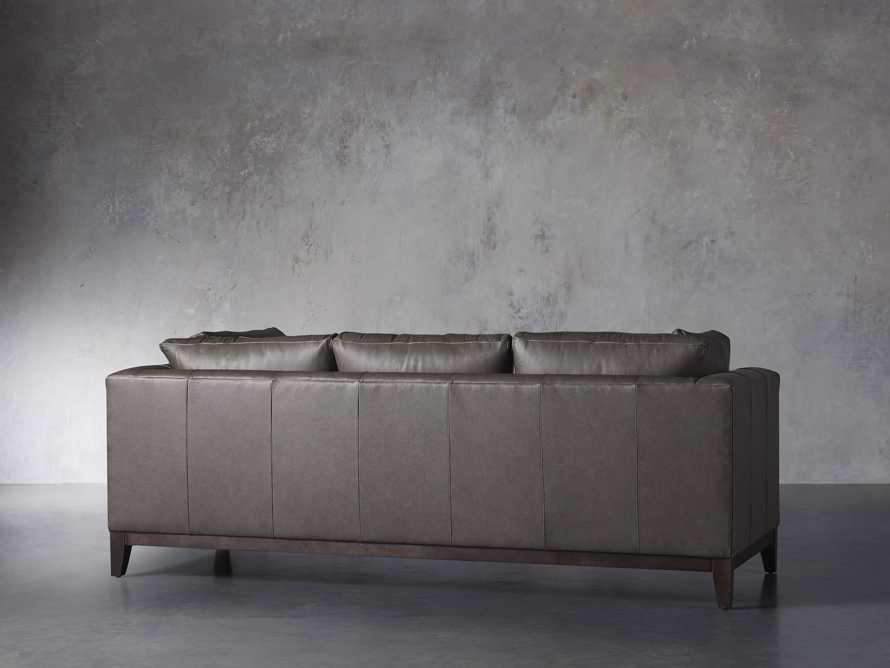 """Bryden Leather 90"""" Sofa, slide 4 of 7"""