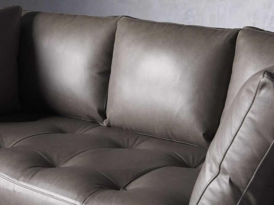 """Bryden Leather 90"""" Sofa, slide 5 of 7"""