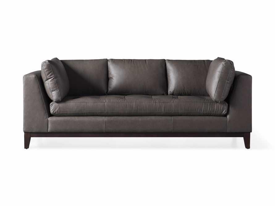 """Bryden Leather 90"""" Sofa, slide 6 of 7"""