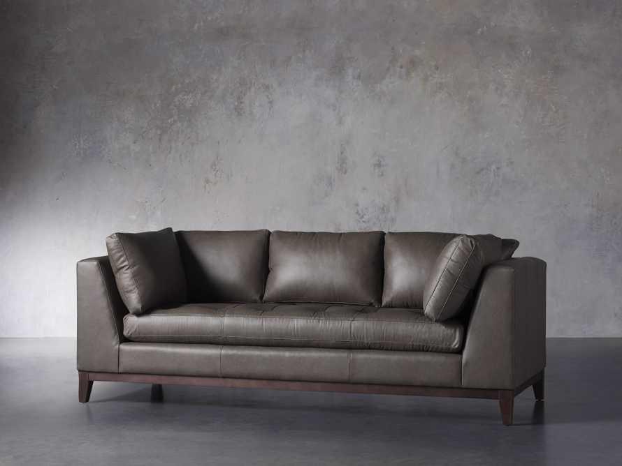"""Bryden Leather 90"""" Sofa, slide 2 of 7"""