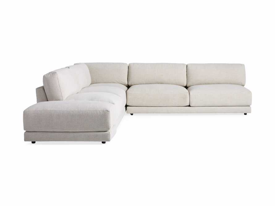 "Sarno Upholstered 120"" Corner Sectional, slide 6 of 7"