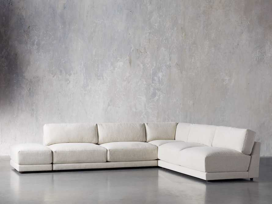 "Sarno Upholstered 120"" Corner Sectional, slide 2 of 7"