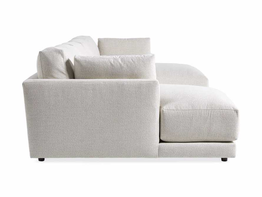 """Sarno Upholstered 168"""" Double Chaise Sectional"""