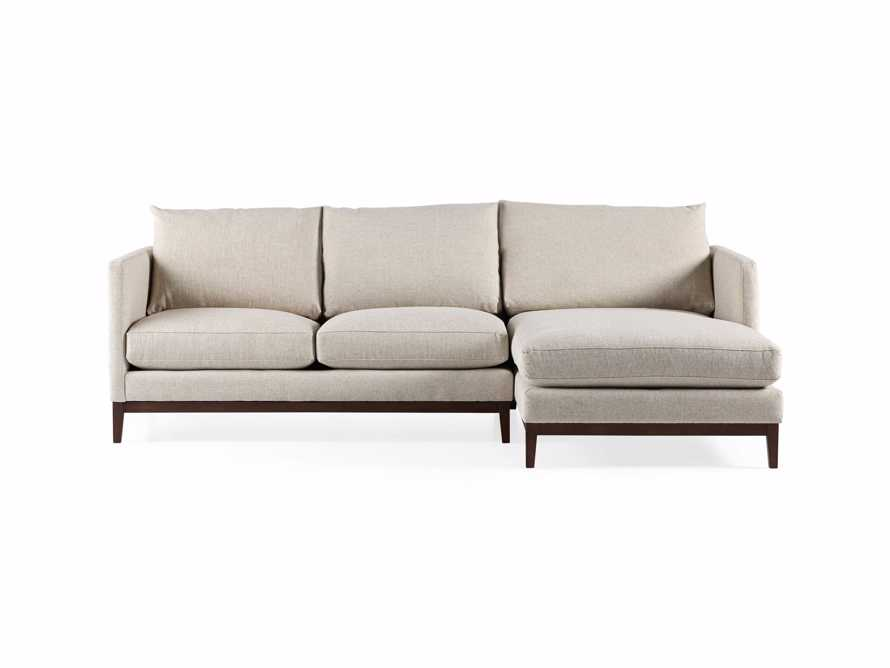 "Pier Upholstered 107"" Two Piece Sectional"