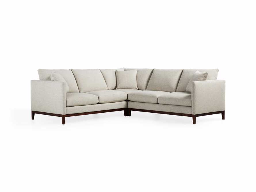 "Pier Upholstered 107"" Three Piece Sectional"
