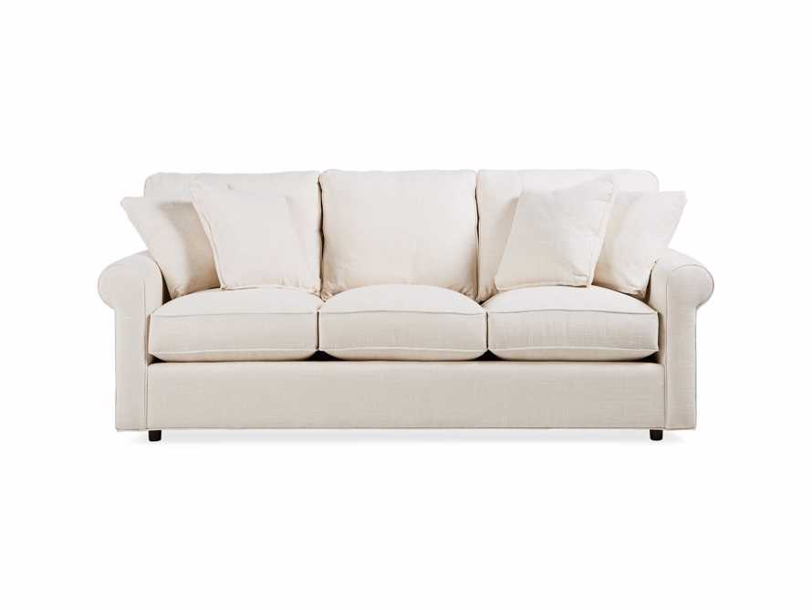 "Baldwin No Skirt Upholstered 89"" Sofa, slide 2 of 8"