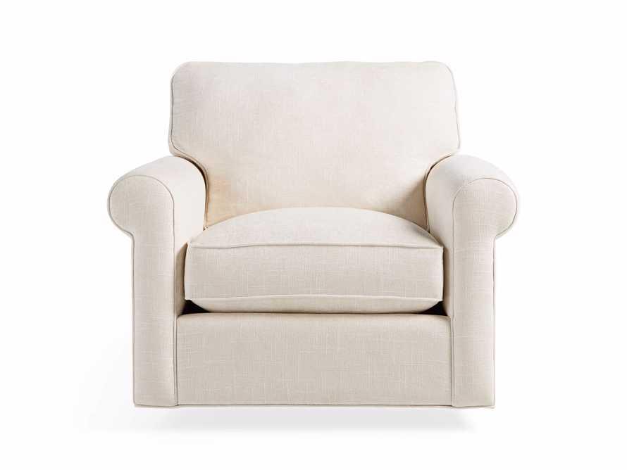 """Baldwin No Skirt Upholstered 44"""" Swivel Chair, slide 2 of 7"""