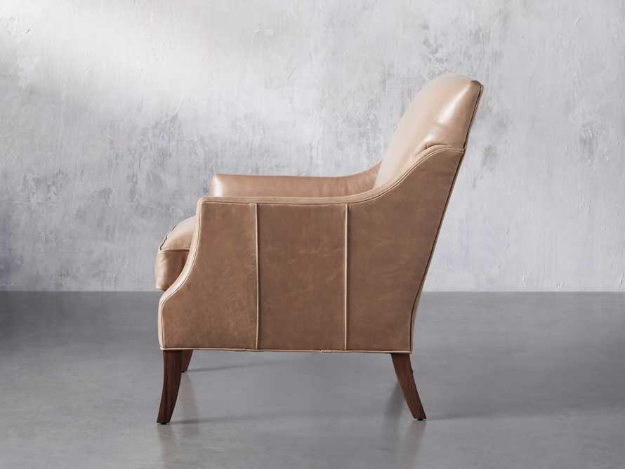 "Dori Leather 31"" Chair, slide 4 of 10"