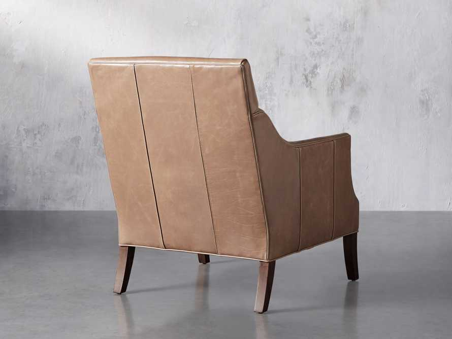 "Dori Leather 31"" Chair, slide 5 of 10"