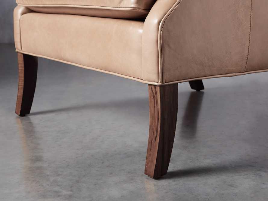 "Dori Leather 31"" Chair, slide 7 of 10"