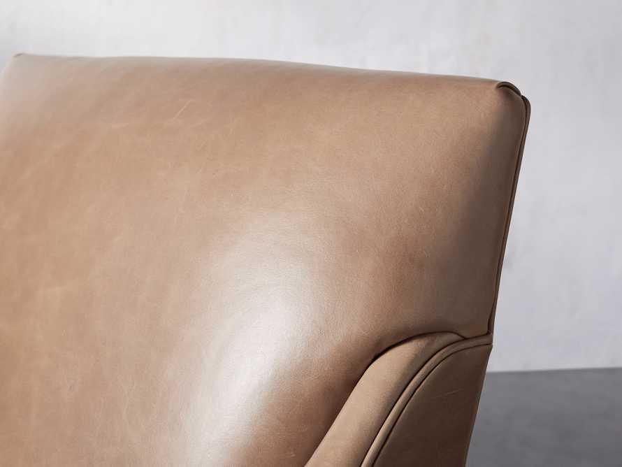 "Dori Leather 31"" Chair, slide 8 of 10"