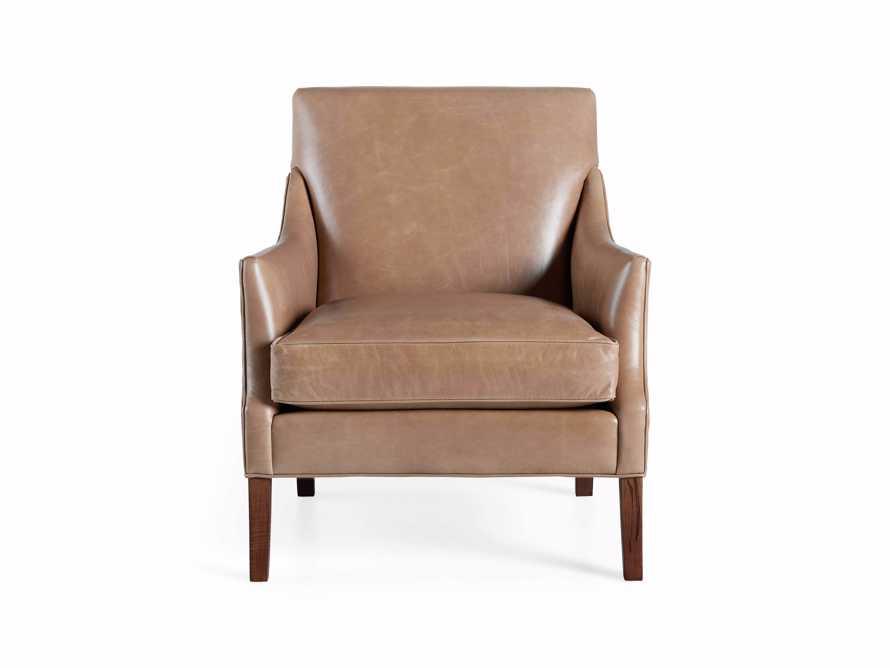 "Dori Leather 31"" Chair, slide 9 of 10"