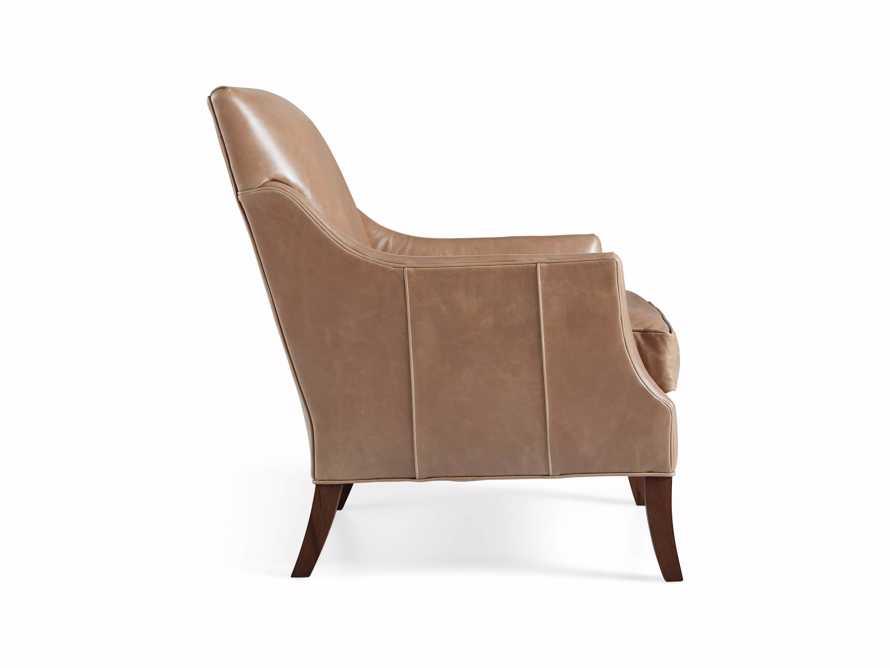 "Dori Leather 31"" Chair, slide 10 of 10"