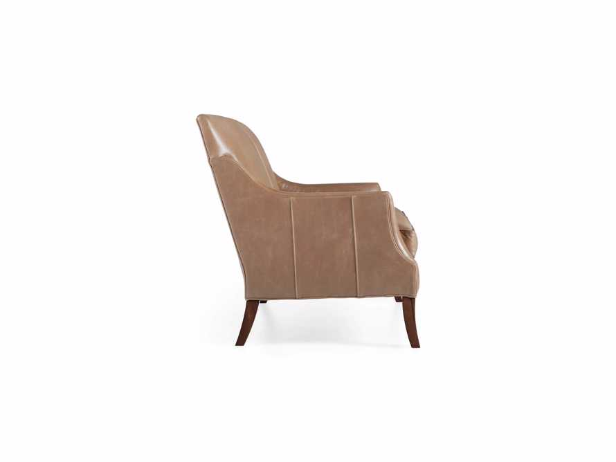 "Dori Leather 61"" Settee, slide 10 of 10"