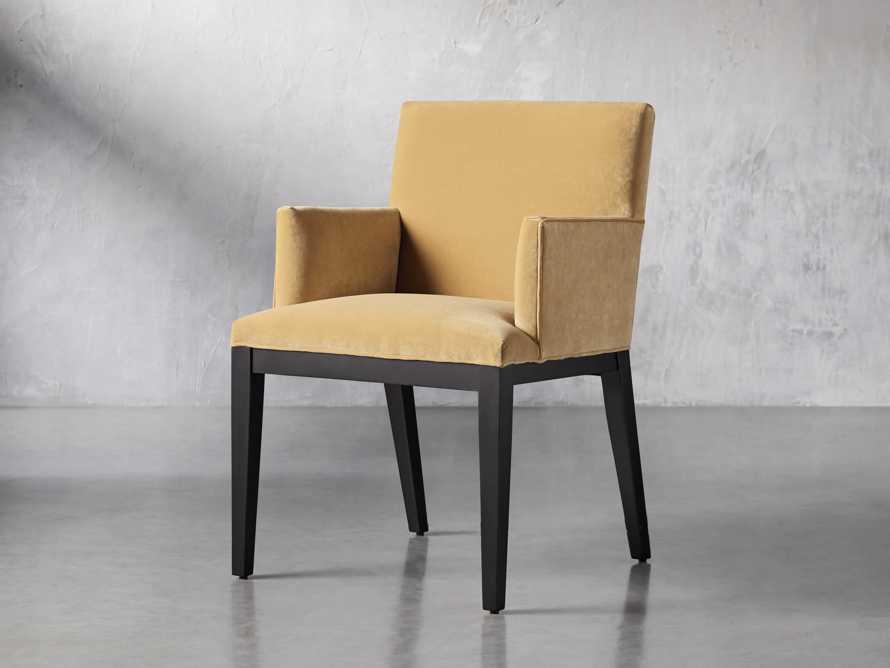 """Jasper 24"""" Dining Arm Chair, slide 3 of 9"""