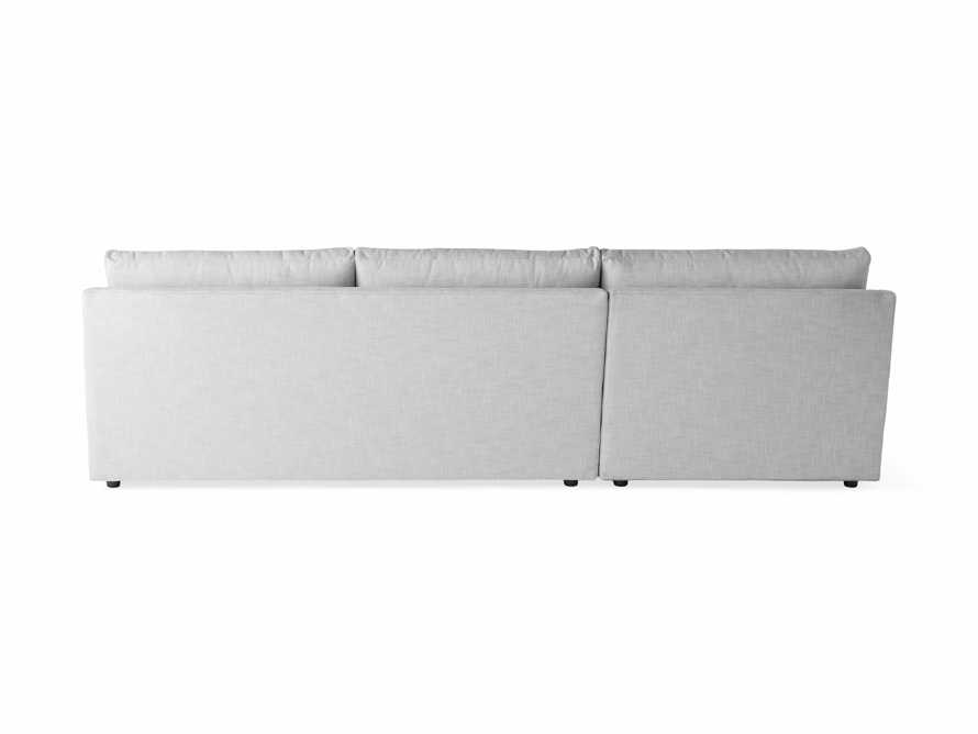 """Branson Outdoor Upholstered 111"""" Two Piece Chaise Sectional, slide 4 of 5"""