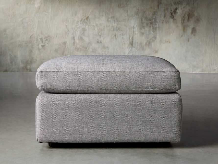 "Ashby Deep Upholstered 30"" Ottoman, slide 2 of 8"