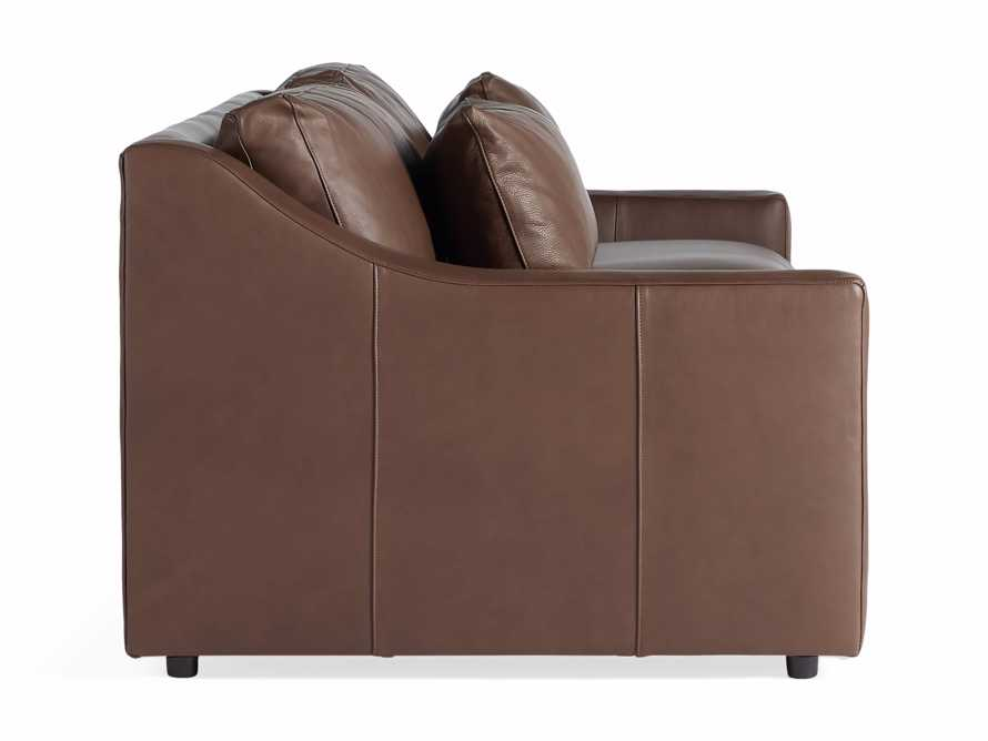 "Ashby Leather 106"" 2/2 Sofa, slide 7 of 7"